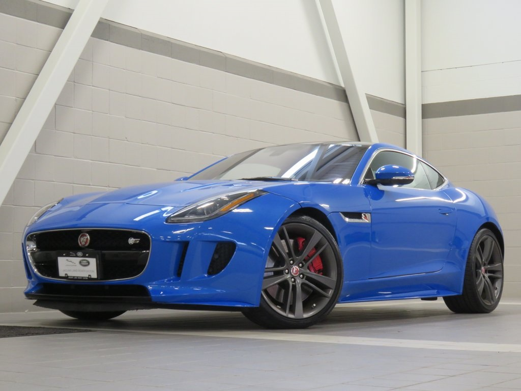 Pre-Owned 2017 Jaguar F-TYPE S British Design Edition Coupe