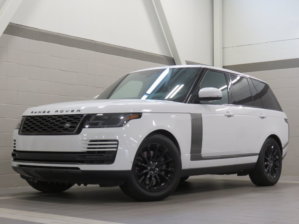 Certified Pre-Owned 2019 Land Rover Range Rover 3.0L V6 Supercharged HSE